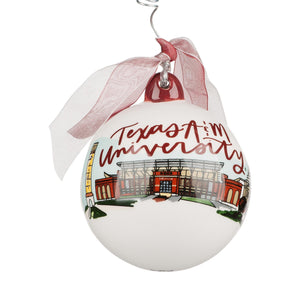 Texas A&M Landmark Ball Ornament