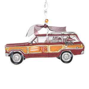 Texas A&M Wagoneer Ornament