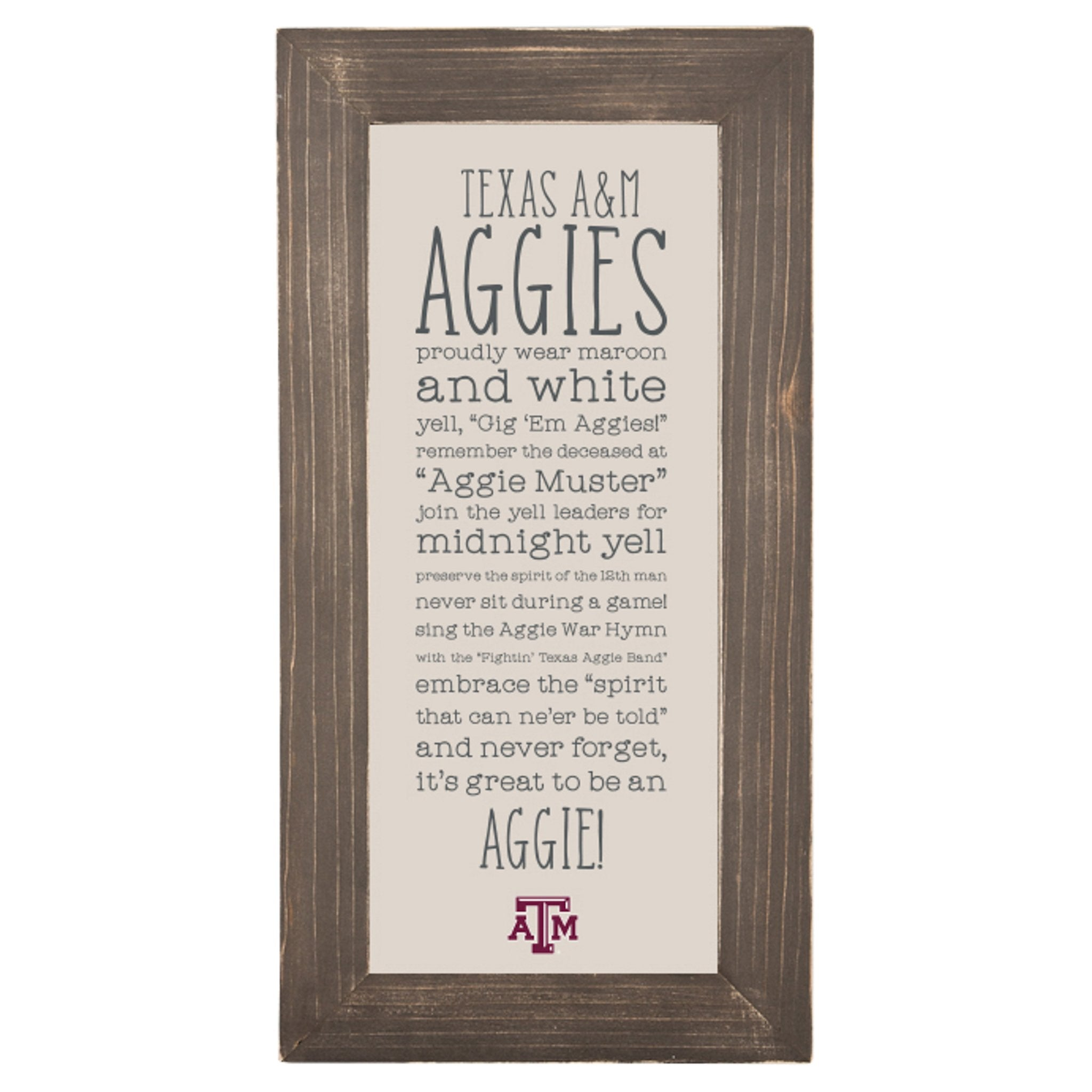 Texas A&M Fabric Board