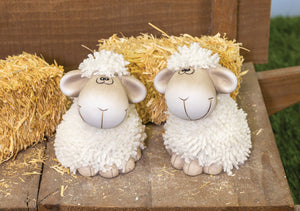 Simple Spring Sheep Shelf Sitter
