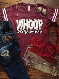 Whoop, It's Game Day Jersey Tee