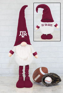 Texas A&M Gnome Fan Stretch Leg