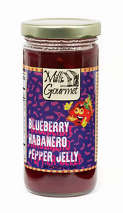 Pepper Jelly || Blueberry Habanero Pepper Jelly