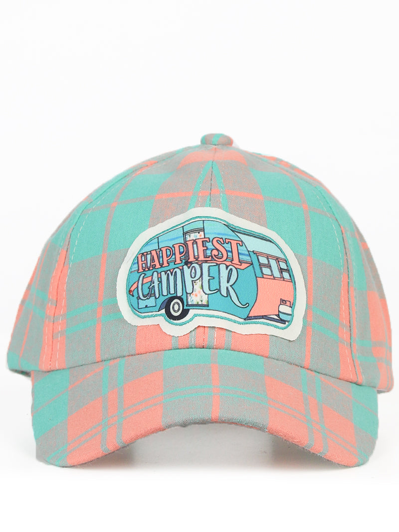 Happiest Camper Patch Hat