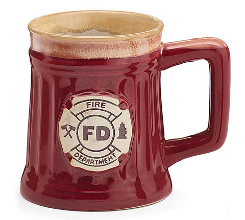 Fire Department Porcelain Mug