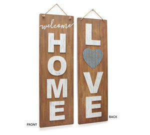 Reversible Home/Love Wall Hanging