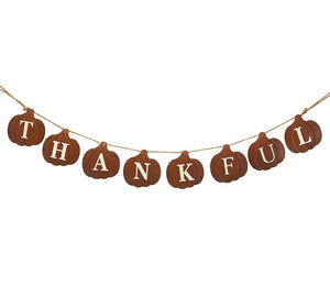 Thankful Pumpkin Garland