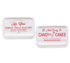 North Pole Bakery Tray