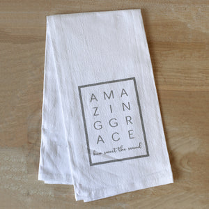 Amazing Grace Flour Sack Hand Towel