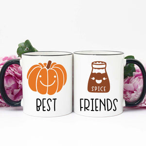 Best Friends Mug Set || Pumpkin + Spice