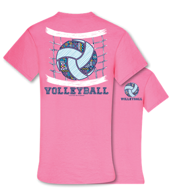 CT Pattern Volleyball T-shirt