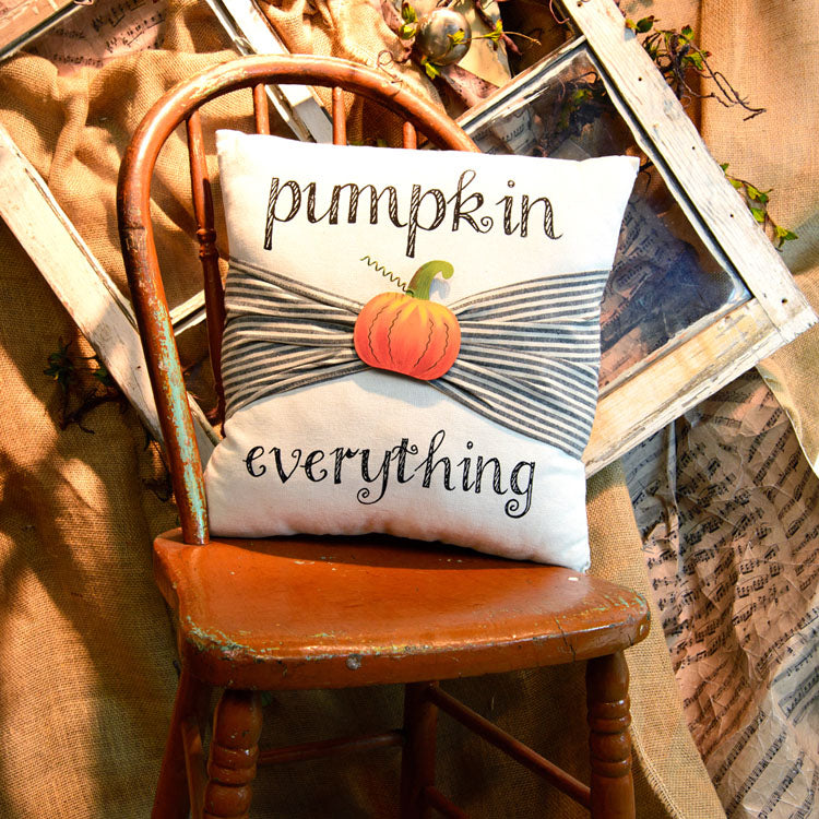 Pumpkin Everything Pillow