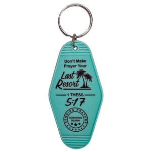Retro Motel Keychain || Last Resort