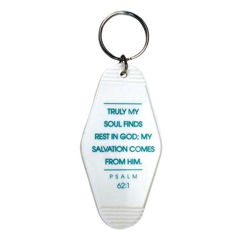 Retro Motel Keychain || Son Rest Motel