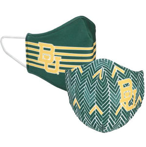 Collegiate Face Cover  || Baylor