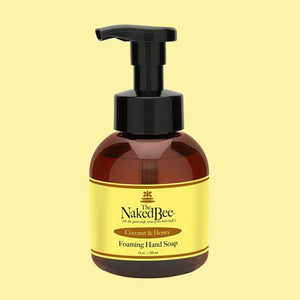 Naked Bee Foaming Hand Soap 12oz || Coconut & Honey