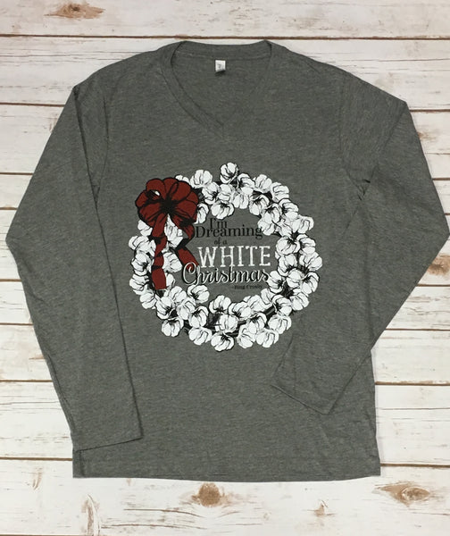 Cotton Christmas Dreams LS Tee