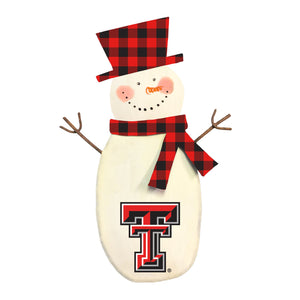 Game Day Snowman - TTU