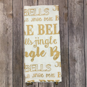 Jingle Bell Hand Towel