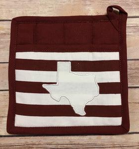 State Stripes Pot Holder