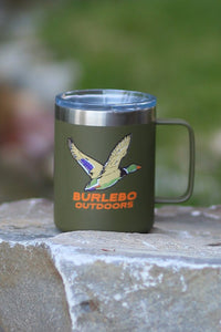 Burlebo || Birds Down Buttom Up Mug