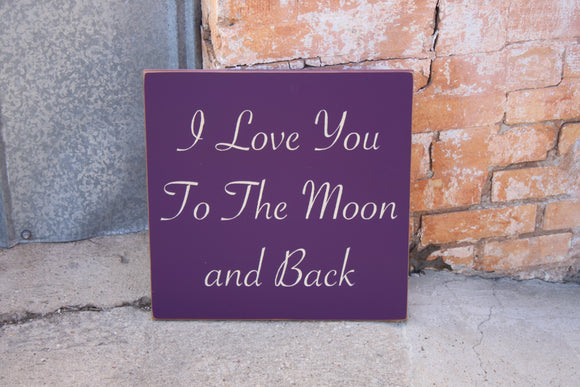 12x12 I Love you..moon and back