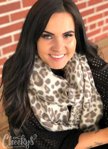 Luxe Leopard Scarf