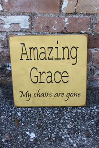 12x12 Amazing Grace My Chains