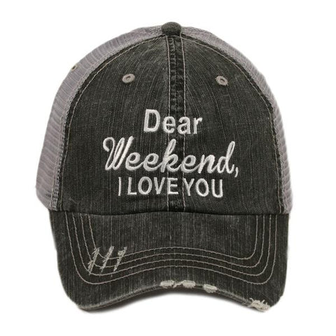 Weekend I Love You Hat
