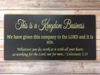 12x24 Kingdom Business
