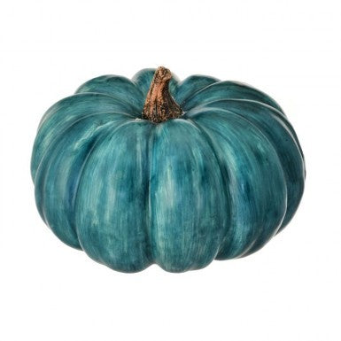 Harvest Vine Pumpkin Blue || Large