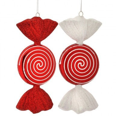 Candy Stripe Candy Ornament