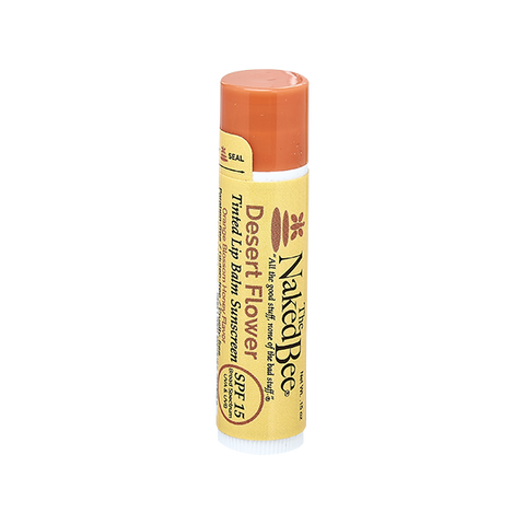 Naked Bee || Tinted Lip Balm in Desert Flower
