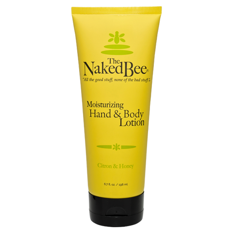 Naked Bee || Citron & Honey Hand & Body Lotion 6.7 oz