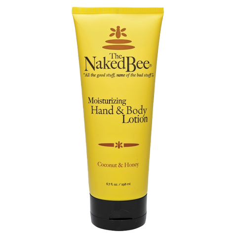 Naked Bee || Coconut & Honey Hand & Body Lotion 6.7 oz