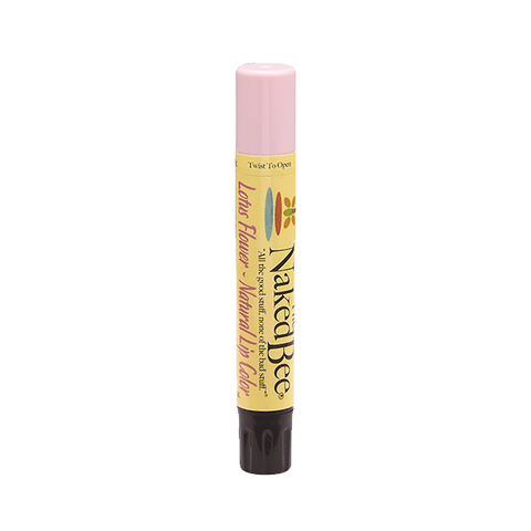 Naked Bee || Shimmering Lip Color in Lotus Flower