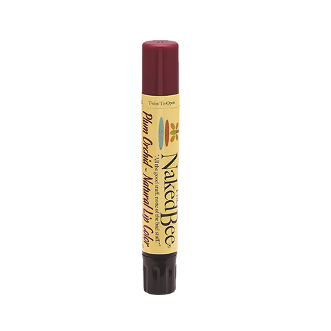 Naked Bee || Shimmering Lip Color in Plum Orchid