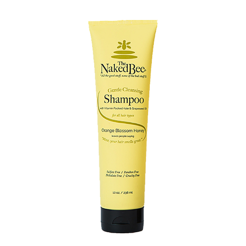 Naked Bee || Orange Blossom Honey Gentle Cleansing Shampoo 10oz