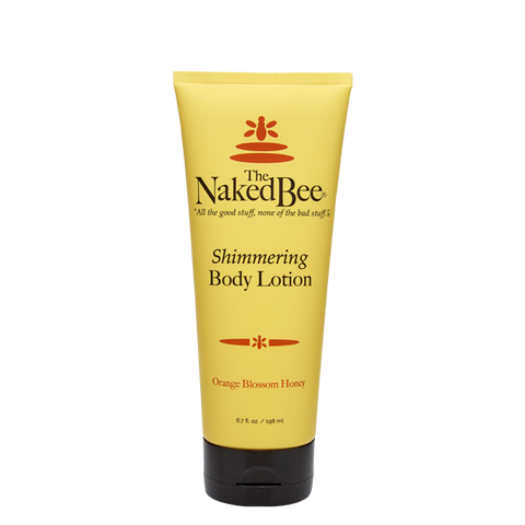 Naked Bee || Orange Blossom Honey Shimmering Lotion 6.7oz