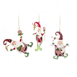 Kringles Santa Lollipop Ornament