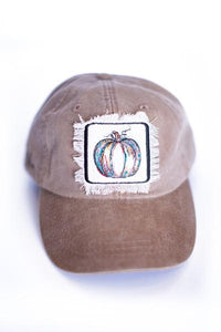 Painted Pumpkin Cap