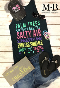 Palm Trees Take Me There Tank