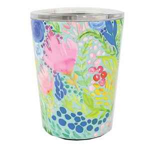 Tropical Mix Stainless Coffee Tumbler