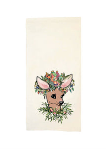 Prancer Tea Towel