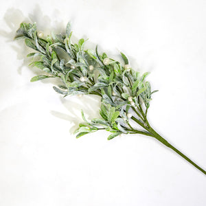 Frosted Mistletoe Spray