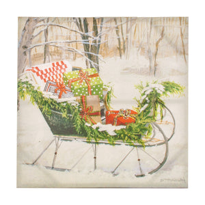 Gallery Sleigh of Gifts Canvas