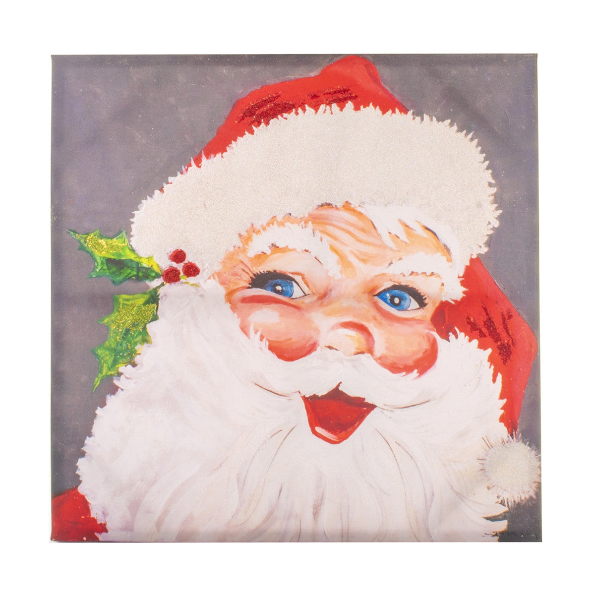 Gallery Jolly Santa Canvas