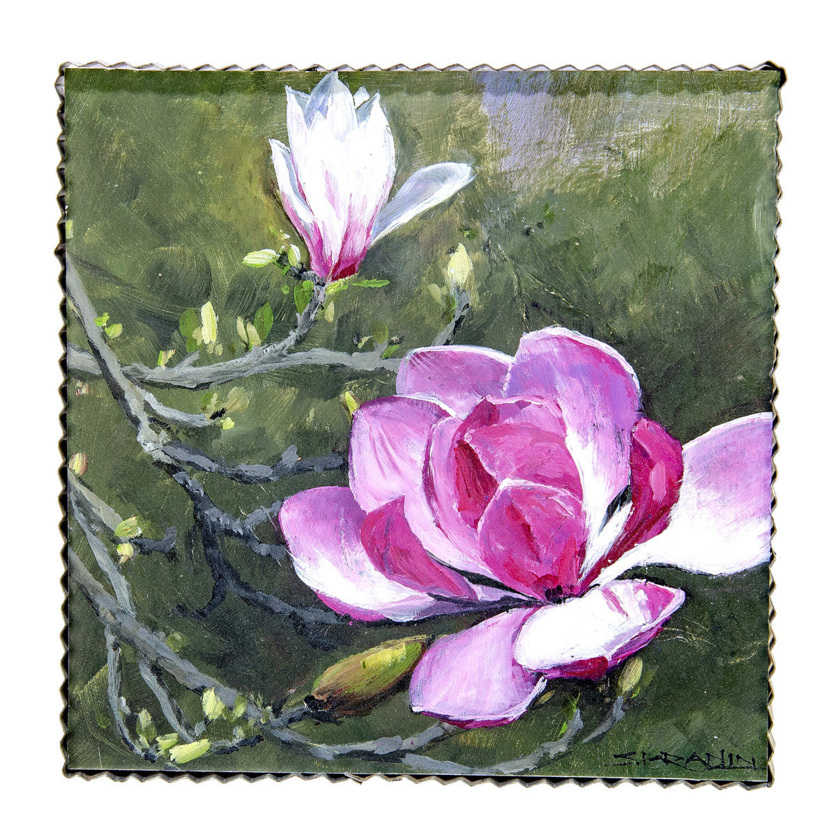 Gallery Saucer Magnolia Print