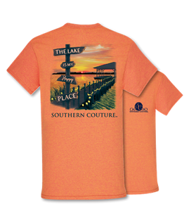 Classic Lake Happy Place Tshirt