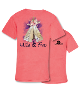 Comfort Colors Wild and Free Tshirt